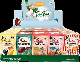 TeeFee Theken-Display für 5 Sorten Früchtetee