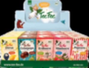TeeFee - Früchtetee ohne Zocker, bio & vegan