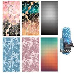 Antonio Microfaser-Tuch Moder Print