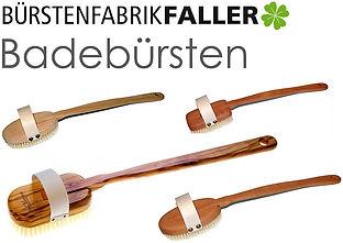 Apricore AG Faller Bürsten Badebürsten