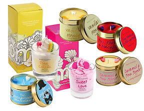 Bomb Cosmetics Product Candles