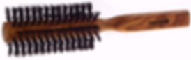 Rundbürste Olivia Naturborsten |10 Reihen | Ø 55mm |Länge 205mm