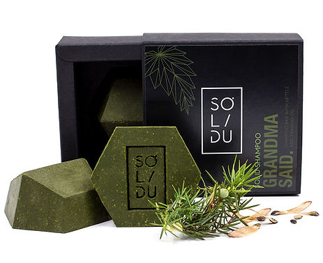 Solidu 'Grandma Said' Solid Shampoo Bar