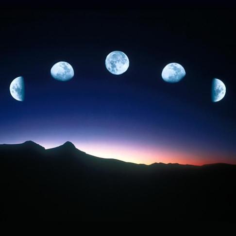 Le cycle lunaire du Mardi 24 Mars 2020 au Mercredi 22 Avril 2020