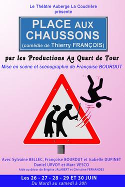 Affiche PLACE AUX CHAUSSONS
