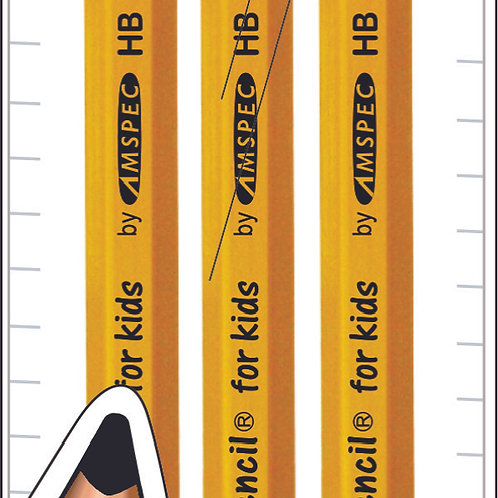 T-Pencil For Kids Pouch of 3