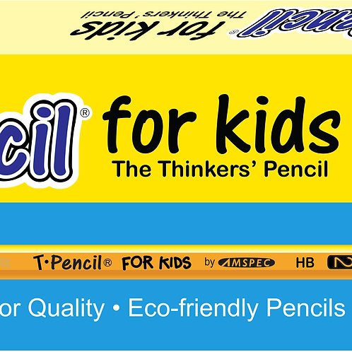 T-Pencil For Kids Box of 12
