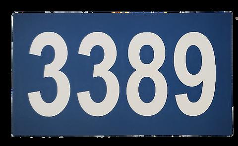 Plaque adresse civique La St-Joseph
