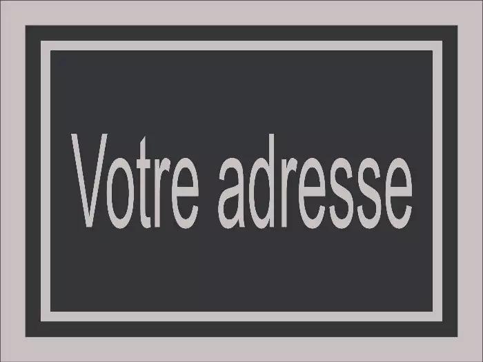 Modèle d'adresse civique 368.