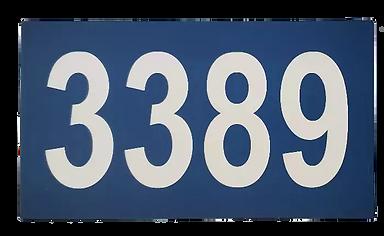 Plaque d'adresse civique La St-Joseph