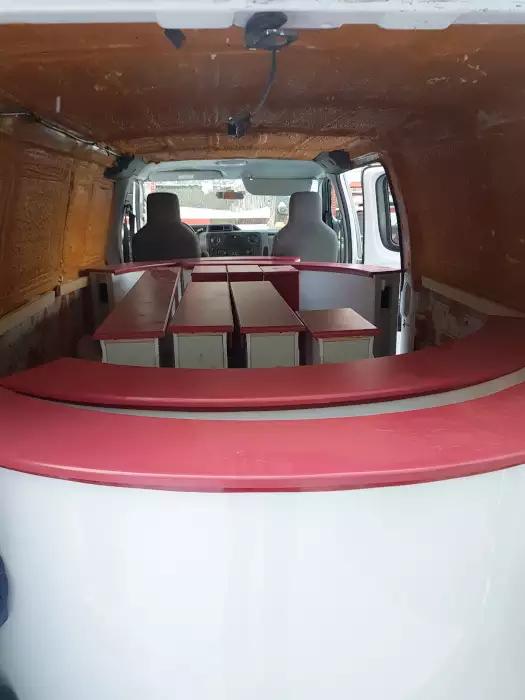 Transport d'un improvisoire dans une camionnette : facile!