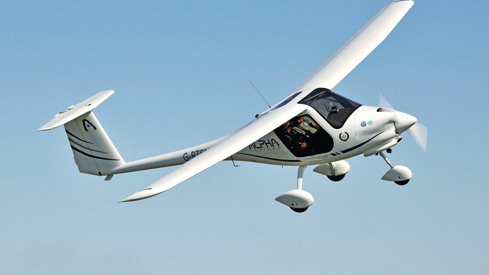 1 Hour Experience Flight - 2 Seat Light Aircraft