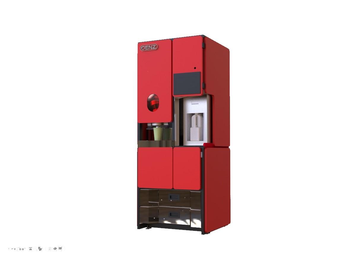 自動茶飲機