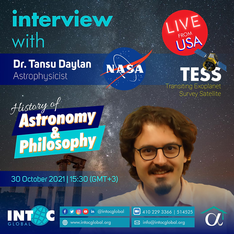 Interview | History of Astronomy and Philosophy | Dr. Tansu Daylan