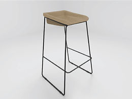 Compel Caffrey Counter Height Stool