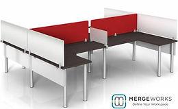 Mergeworks Enclave Desk Dividers
