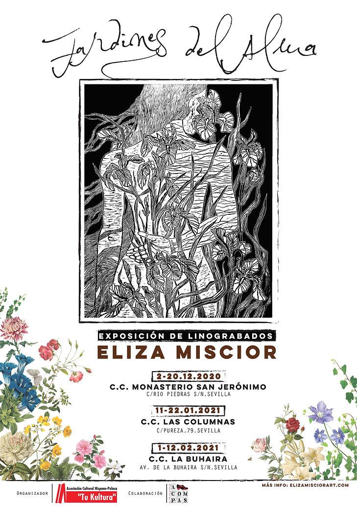 cartel A3_expo_linograbados_ELIZA MISCIO