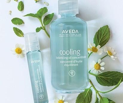Cooldown met Aveda Cooling Balancing oil concentrate