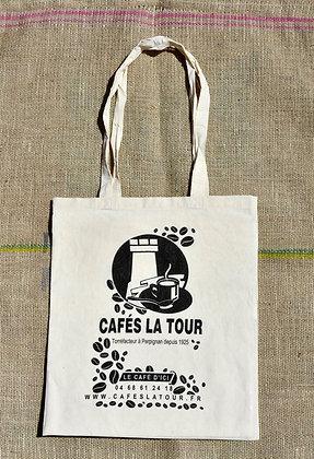 TOTE BAG CAFÉS LA TOUR