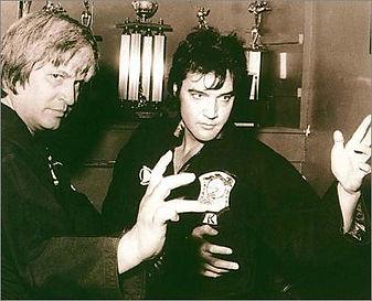 Ed Parker et Elvis Presley