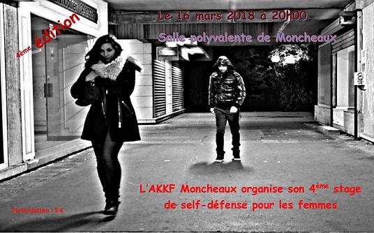 4EME stage self defense femme