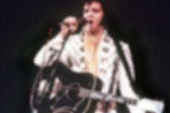 Elvis Presley et sa guitare Kenpo