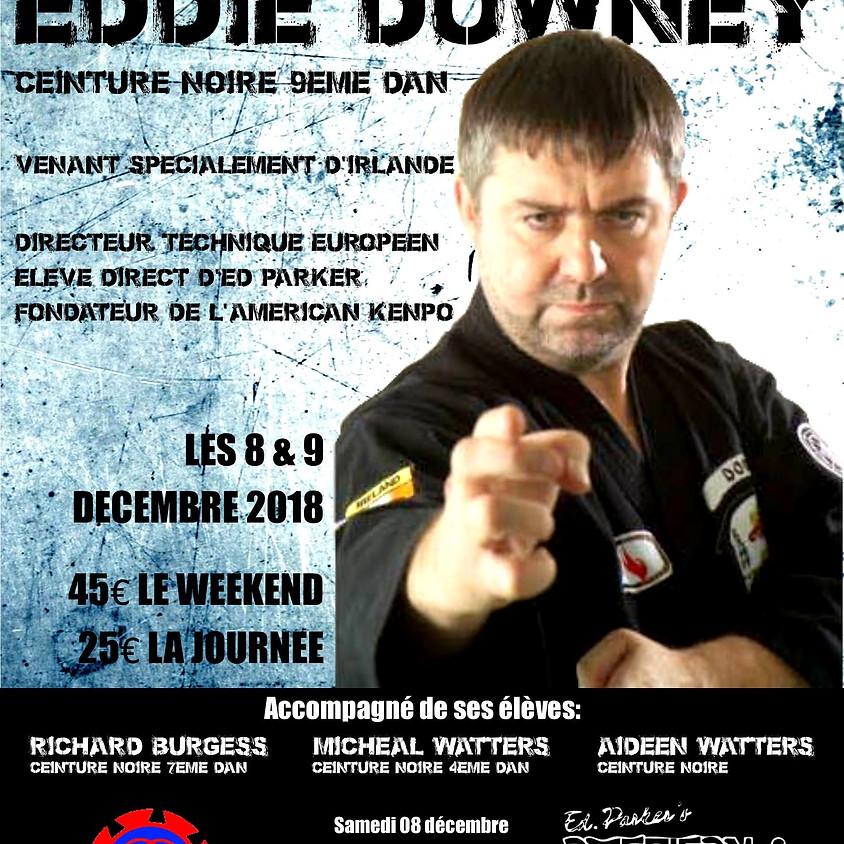Grand séminaire annuel Français avec le Professeur Edward Downey, 9ème Dan