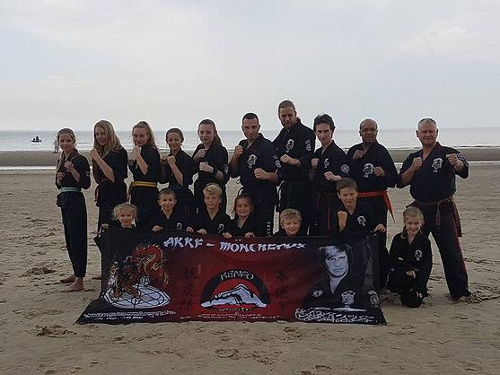 Kenpo Moncheaux stage été 2017 Brays dunes
