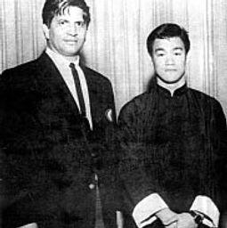 Ed Parker et Bruce Lee