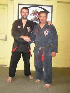 Edward Downey et John Sepulveda