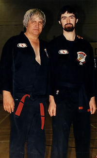 Edward Downey et Ed Parker