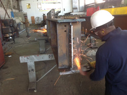 Fabrication in Shop