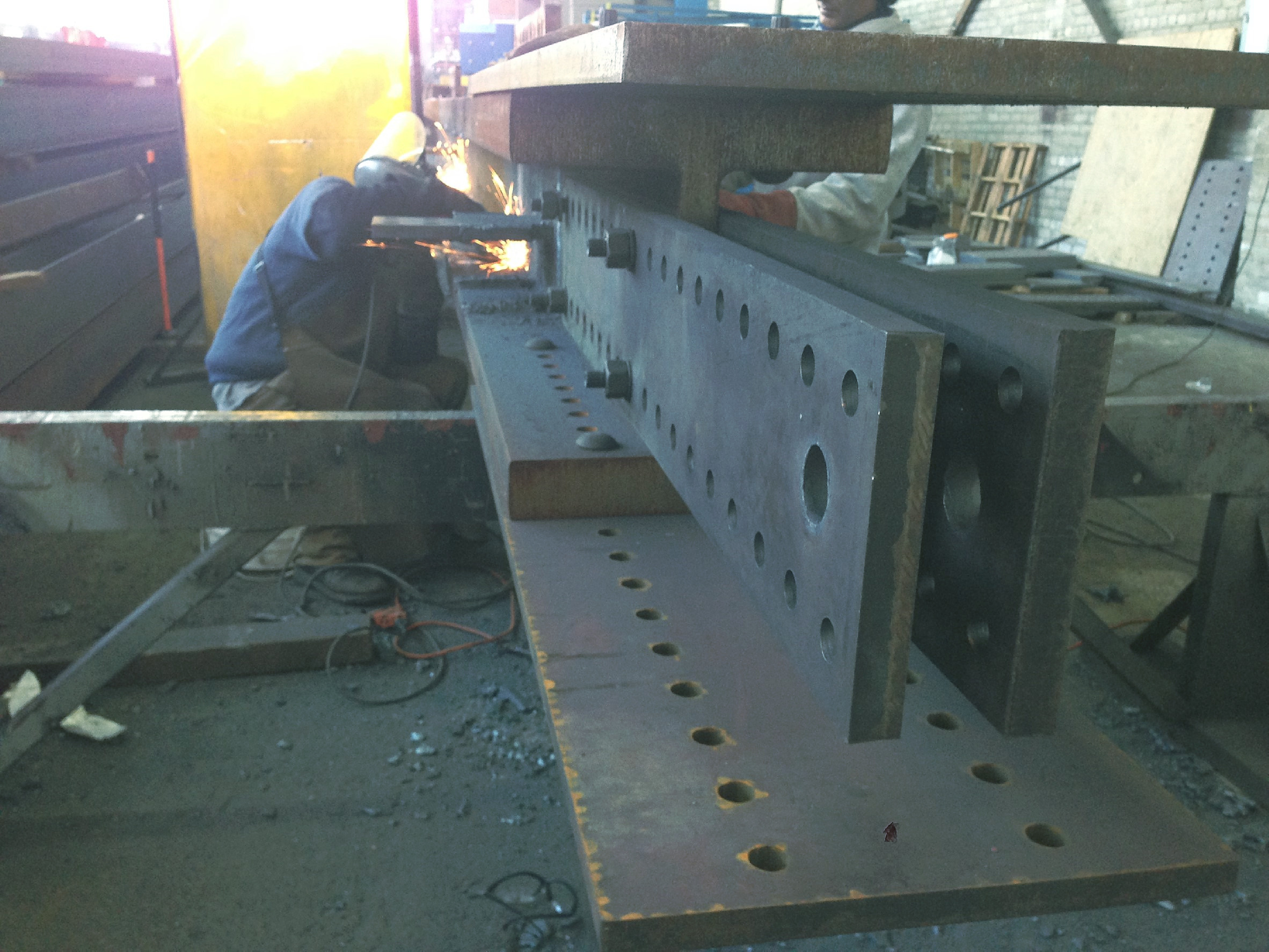 Welding & Fabrication of Beams