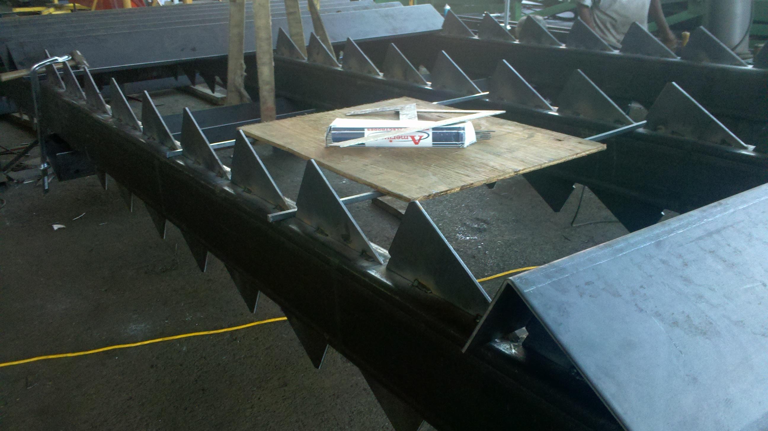 Custom Steel for Stair