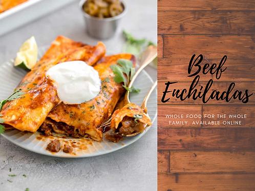 Beef Enchiladas