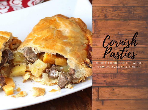 Cornish Pasties with Beer Gravy