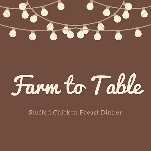 Stuffed Chicken Breast Dinner
