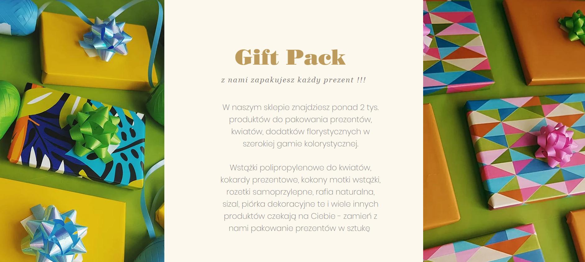 Producent Wstążek I Taśm Do Kwiatów Gift Pack Polska