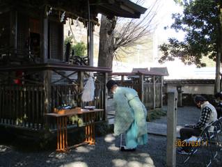 令和三年東日本大震災復興祈願祭をおこないました。