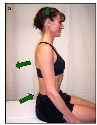 Chin Tuck Exercise with Scapula Setting