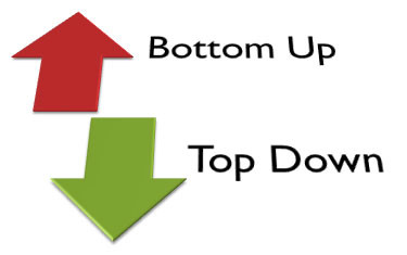 Top Down or Bottom Up Approach?