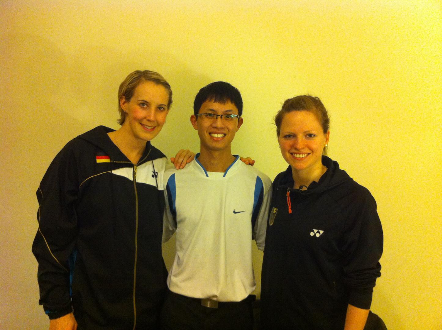 German Women's Badminton Team