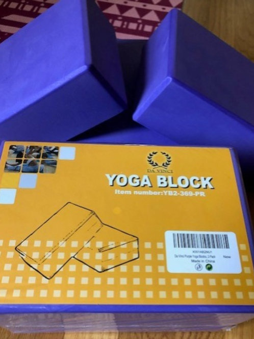 Yoga Blocks - set of 2