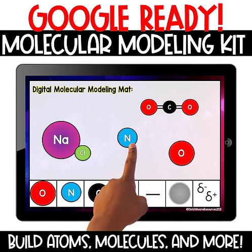 Digital Atoms and Molecules Modeling Kit / Google Slides