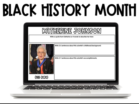 STEM and Black History Month Activities