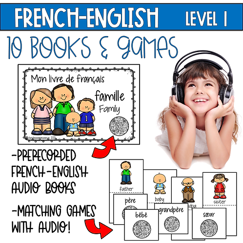 Beginning French Books & Games with Audio Level 1