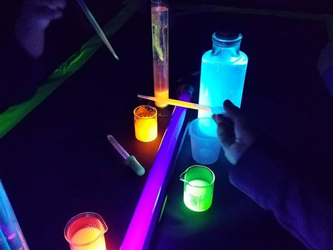 Light Up Science Class with a Glowmistry Party!
