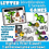 Thumbnail: Digital and Print Alphabet & Letter Sound Matching Games-Dinosaurs