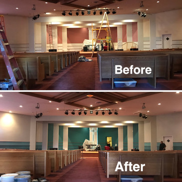 Church Repaint