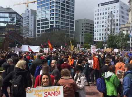 My biggest takeaways from the Climate Strike in Auckland.